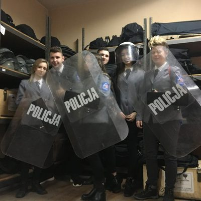 Galeria klasy mundurowe - klasa policyjna