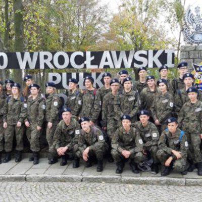 Galeria klasa wojskowa w 10 Wroc. Pułku Dowodzenia