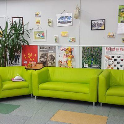 Galeria integracja -zielona sala