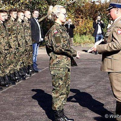Galeria klasa wojskowa - ślubowanie