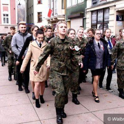 Galeria klasa wojskowa - 11 listopada