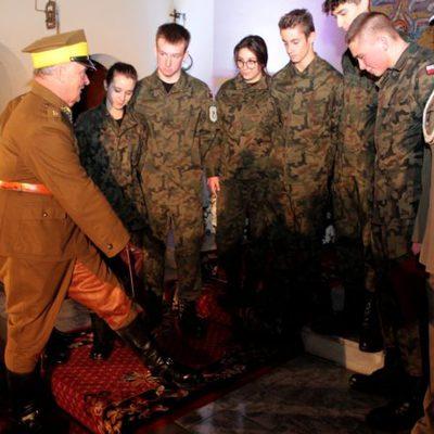 Galeria klasa wojskowa - obchody 11 listopada, parafia WNMP