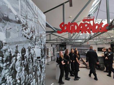 wystawa poświęcona Solidarności